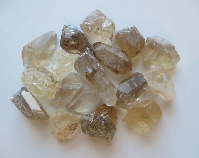 Natural Raw Citrine Chunks