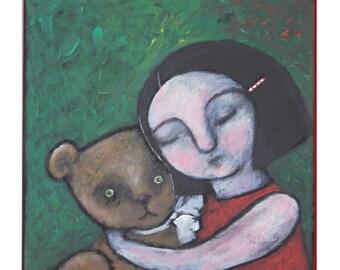 "Acryl painting ""True Love"""
