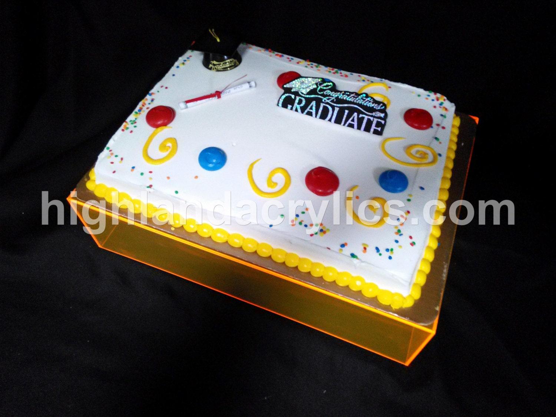 Sheet Cake Stand Acrylic Sheet Cake Stand