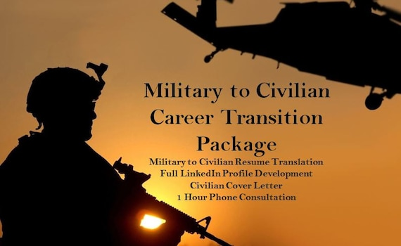 cover letter transitioning from military