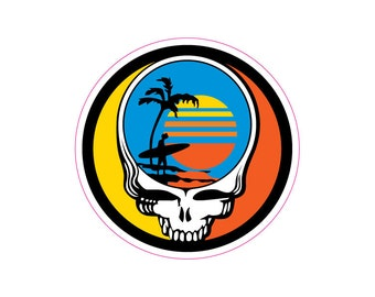 Decal - Grateful Dead Endless Summer decal