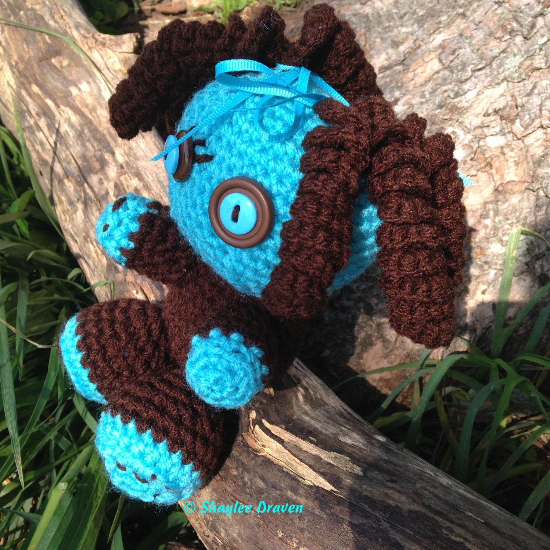 Crochet Amigurumi Doll Head : Amigurumi voodoo crochet doll sack doll gifts by ...