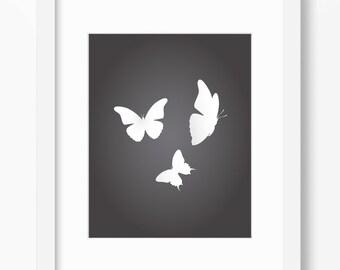 Butterfly Art, Butterfly Print, Butterfly Wall Art, Butterfly Wall Print, Butterflies Art, Butterflies Print, Butterflies Wall Art