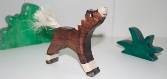 Horse Toys For Boys : Items similar to wooden toy horse bio