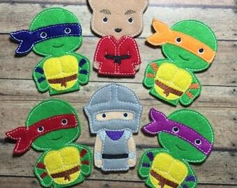 Finger Puppets - Ninja Turtles