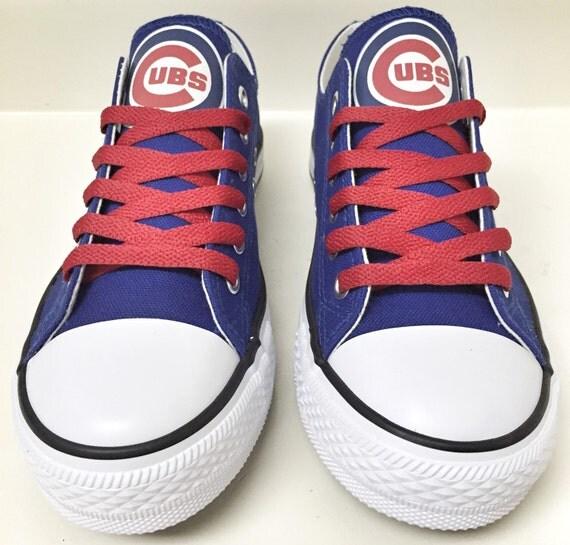 custom chicago cubs womens mens low tops by coast2coastkicks