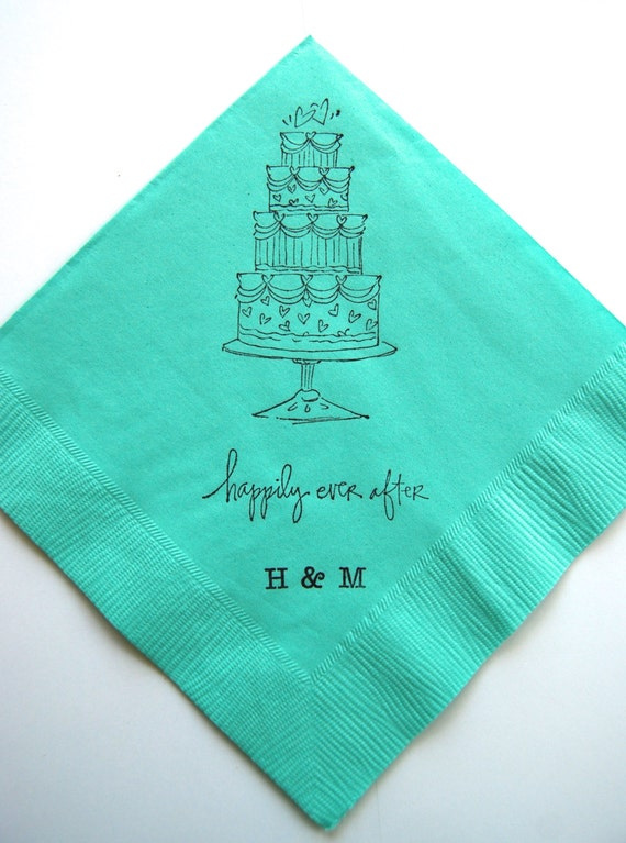 wedding cake napkins fancy wedding cake stamped paper napkins by 23295