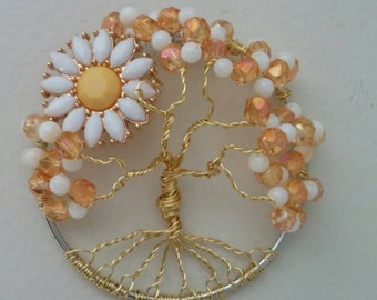 Cute little Daisy Mae Sunflower Wire Tree