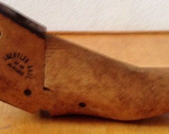 Antique wooden cobbler form