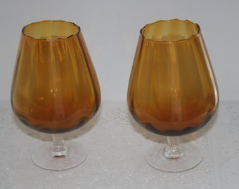 Pair of decorative, collectible Goblets.