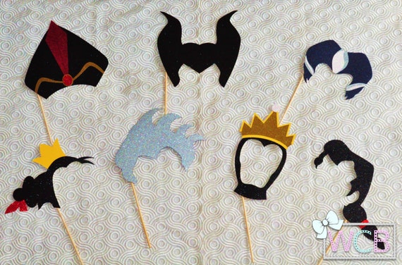 Items Similar To Disney Villains Inspired Photo Booth