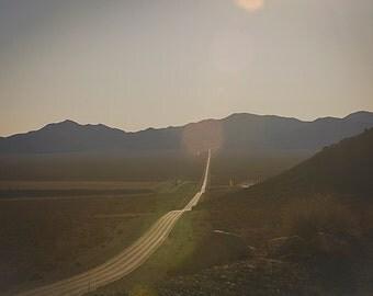 Desert Highway, Death Valley, Nevada