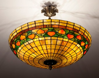 Stained Glass Ceiling Lamp, Ceiling Light, Pendant Light, Chandelier Lamp, Acorn Pendant, Pendant Light Fixture, Ceiling Lamp Shade, Lamp
