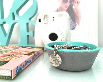 Concrete Vessel - Jewellery Trinket Holder