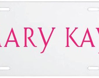 Mary Kay License Plate