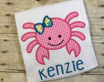Girl Crab Children's T-Shirt