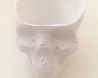 Small Plaster Skulls or Baby Heads