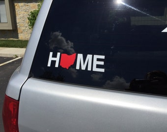 Ohio Home Car Window Decal FREE SHIPPING
