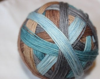 Ready to Ship Sherlock Holmes Self Striping Sock Yarn