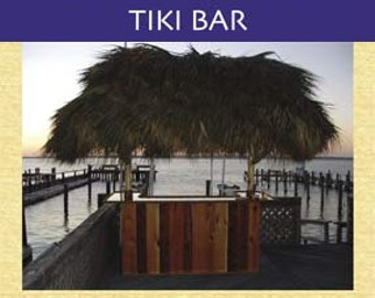 Bar Plans -How To Build Your Own Tiki Bar Book  by Tiki Kev