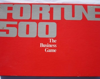 Fortune 500 The Business Game-1979 by Pressman-Complete