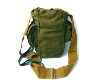 Vintage bag Cross body bag mens bag military bag Eco bag green bag green Messenger Bag women small bag Military Shoulder Bag laptop bag