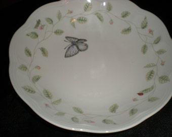 """Lenox 8 1/2"""" bowl Butterfly Meadow"""
