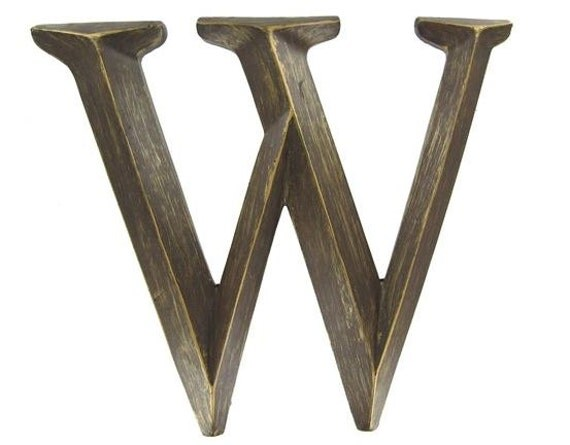 Bronze Letters Wall Letters Metal Wall Decor Letters