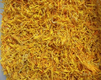 Naturally Dried Organic Calendula Petals