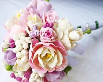 "Wedding Bouquet ""Athena"" - Weddings Flower Bouquets - Bridal Bouquets - Bouquet of Flowers - Flower Bouquets"