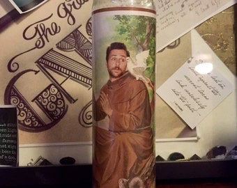 Charlie Kelly Charlie Day Its Always Sunny in Philadelphia Prayer Candle