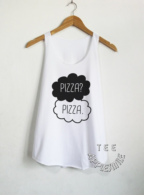 pizza pizza tank top cute shirt tumblr t shirt by