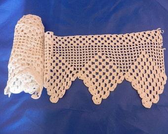 Handmade Crochet Lace Trim