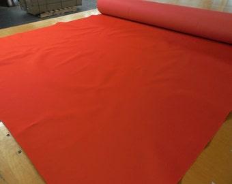 2 Yards Mandarin Orange 300x600D PVC Backed Polyester 12.5 oz. Waterproof, Free Shipping!