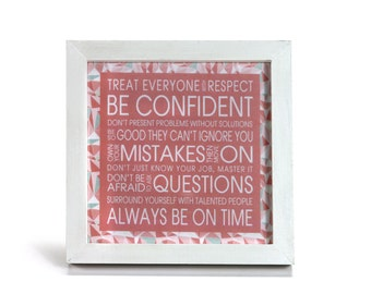 Good Advice - Office Print and Frame