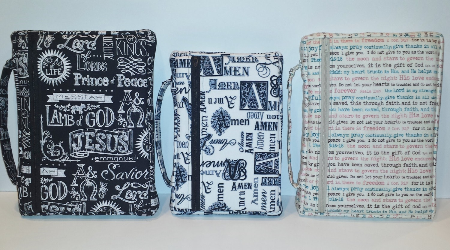 Pattern For Book Cover With Zipper : Zippered bible cover pattern