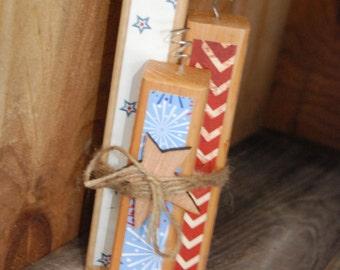 Handmade candle/firework