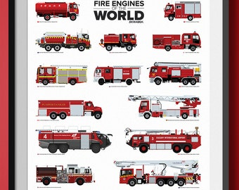 Fire Engines of the World