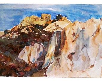 New Mexico Mountain Range