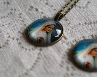 Virgen Mary Necklace