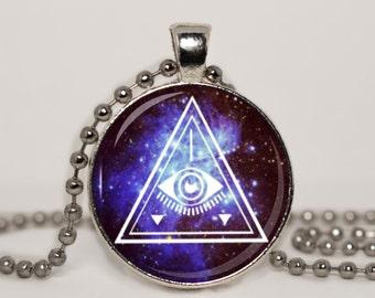 Illuminati Pendant Necklace