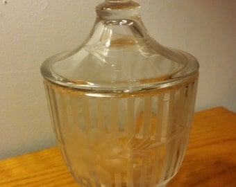 Vintage Candy Dish with Lid