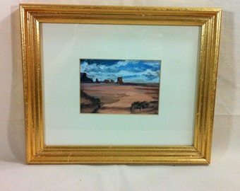 Original Southwest Painting Desert Mesa Signed