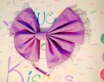 SweetSugarKisses   Lolita Bow  headband