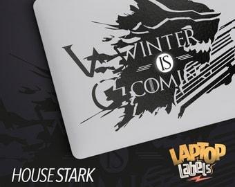 House Stark - Game of Thrones MacBook Decal