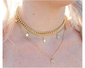 Gold Astral Choker