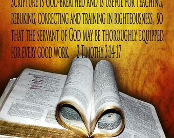 God's Word - But as for You / Church or Personal Banners for Your Home or Office (G3815-1)