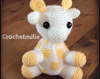 Crochet Giraffe softie  / Girafe en peluche au crochet