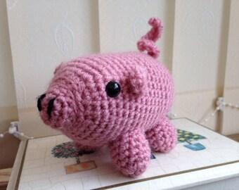 Handmade piglet