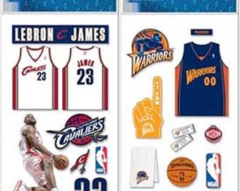 2015/2016 NBA Finalist 3D Stickers